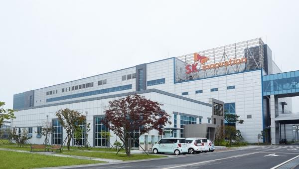 SK이노베이션은 미국 조지아주에서 43만대의 차량 생산이 가능한 21GWh에 이르는 배터리 공장을 건설하고 있다. [SK이노베이션]
