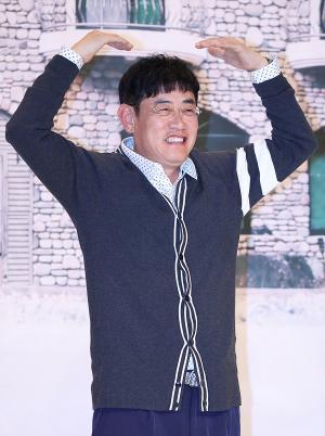 [IS포토] 이경규, 달팽이 호텔 대부님의 '왕하트'