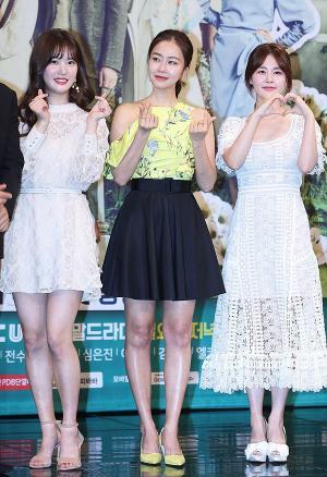[IS포토] 양혜지-홍수현-김주현, 부잣집 아들 '미녀 삼총사'