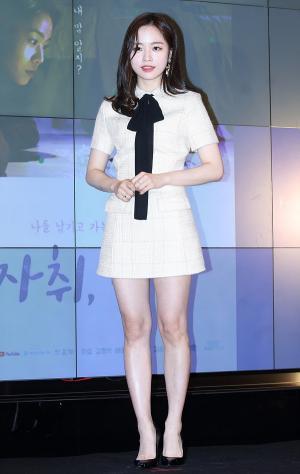 [IS포토] 배윤경, '러블리 순백자태'