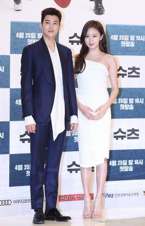 [IS포토] 박형식-고성희, 슈츠 '비주얼 커플'