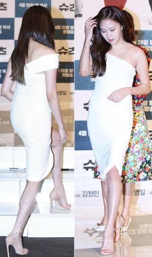 [IS포토] 고성희, '섹시와 우아'를 품은 발걸음