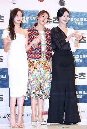 [IS포토] 고성희-채정안-진희경, 슈츠 '미녀 삼총사'