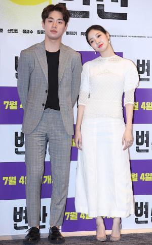 [IS포토] 박정민-김고은, 변산 '청춘남녀'