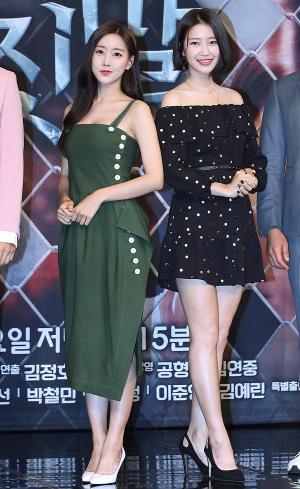[IS포토] 오승아-서해원, 비밀과 거짓말 대립각 미녀 '둘'