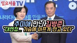 [영상] 추미애 만난 김병준